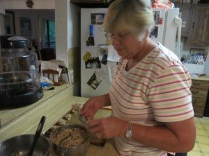 Nancy's chocolate chip cookies...