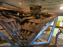 12 foot section of the stern of the Arabia