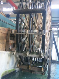 28 foot paddle wheel from Arabia