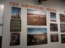 photos of the Kansas cornfield where the Arabia was excavated.