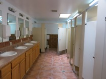 best bathroom ever at a campground - Santa Fe Skies RV Park, Santa Fe, NM