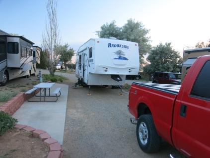 Santa Fe Skies RV Park - site 15