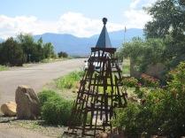 sculpture in campground