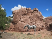 horse, Turquoise Trail Sculpture Garden
