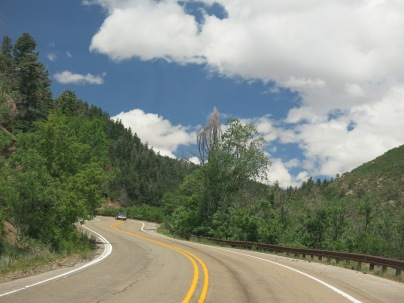 Sandia Crest Natinoal Scenic Byway