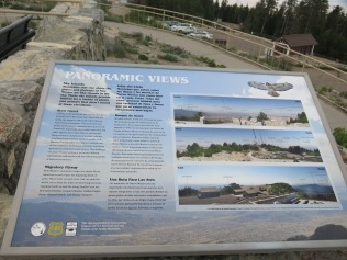 Panoramic Views info sign