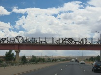 the Highway bridges are works of art....
