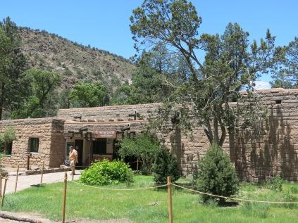 Visitor Center at Bandelier NM