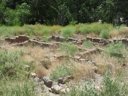 Tyuonyi village in Frijoles Canyon - c mid-1300s - Bandelier NM