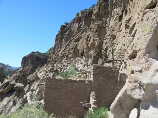 Cliff Dwellings at Bandelier NM