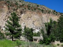 CCC buildings and Visitor Center, Bandelier NM