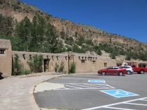 Gift Shop and Snack Bar - Bandelier NM - CCC built these buildings in the 1930s