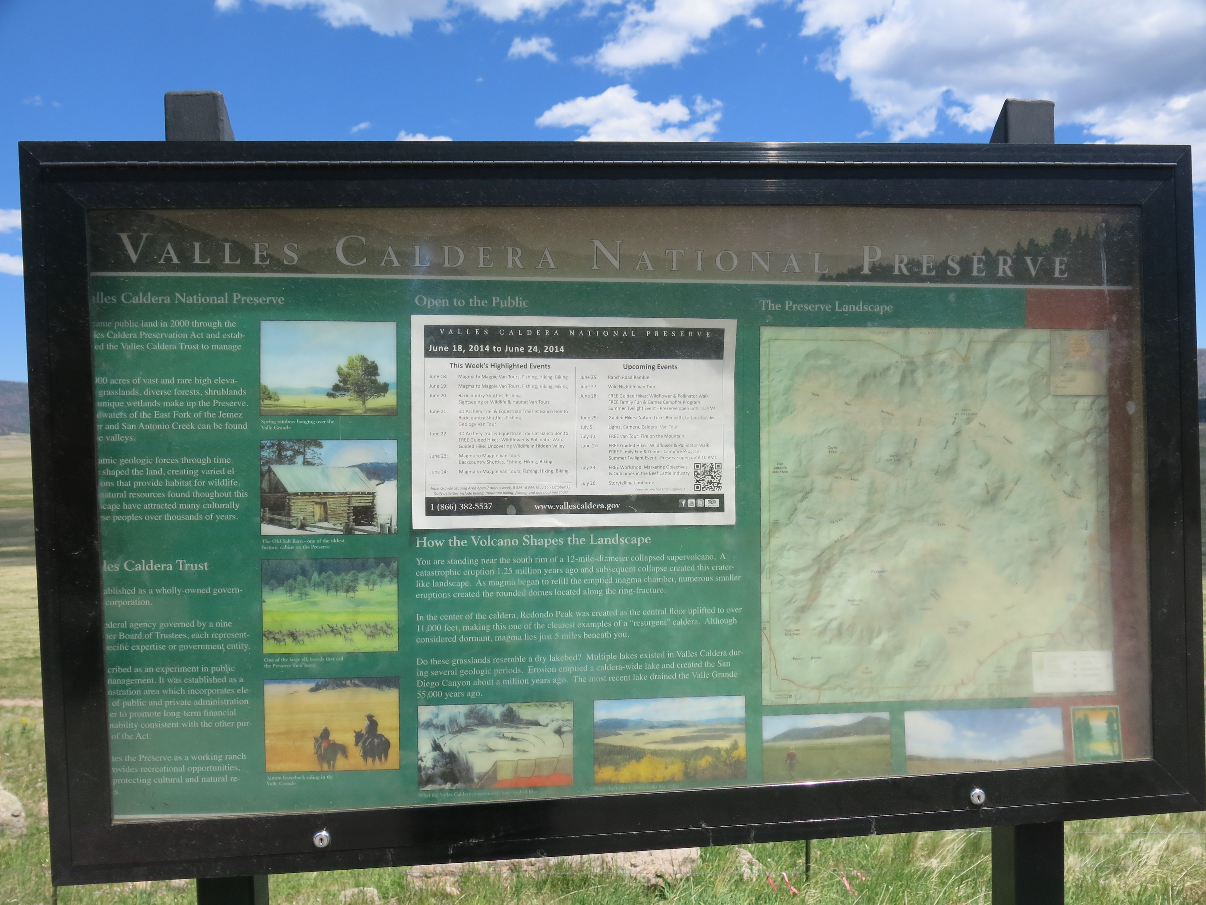 Los Alamos And The Valles Caldera National Preserve