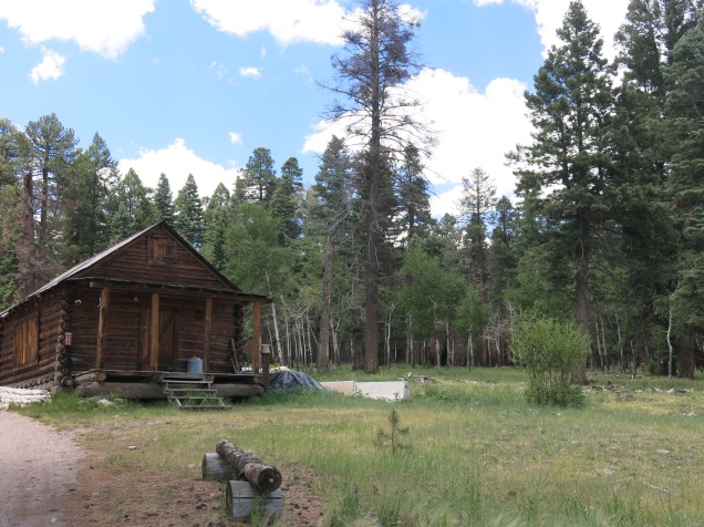 cabin from early 1900s, Valles Caldera National Preserve