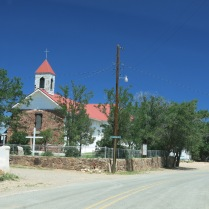 every small town has a Catholic Church...