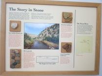 exhibit in Visitor Center, Villanueva SP