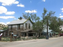Company House in Madrid, NM - built by Oscar Huber, coal mine superintendent - 1918.