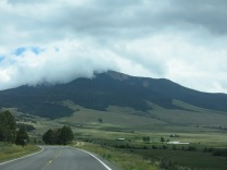 Wheeler Peak, from Enchanted Circle Scenic Byway, Red River Valley, NM - NM 64 W