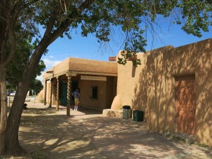 entrance to Taos Pueblo