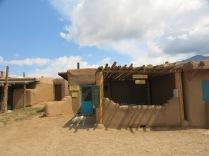 Adobe Cafe and gallery - Taos Pueblo