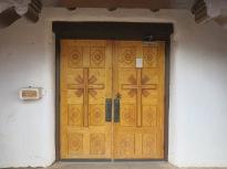 hand carved doors - San Geronimo Church
