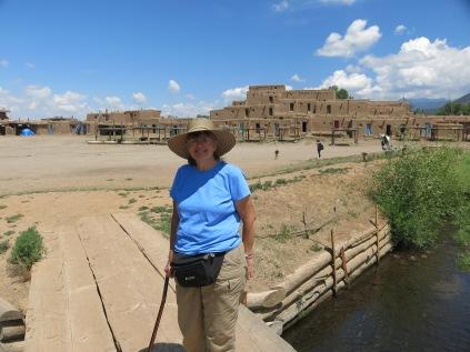 Holly at Taos Pueblo