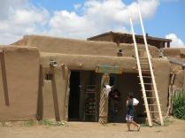 Morning Talk Indian Shop - Taos Pueblo
