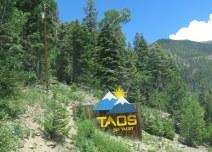 Taos Ski Valley entrance