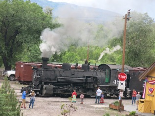 Cumbres and Toltec Scenic Railway: Rugged, Narrow Gauge, Coal-Fired, Steam-Powered Train