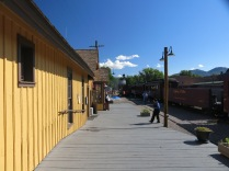 Chama Train Station - Cumbres & Toltec Scenic Railroad