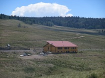 Osier, where we stop for buffet lunch (meatloaf, turkey, or soup/salad, and dessert bar)