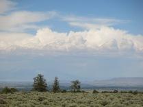 Nice clouds, heading toward Antonito
