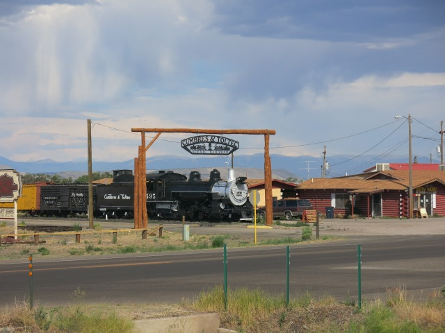 Arriving in Anonito, CO