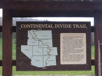 Continental Divide Trail at Wolf Creak Pass