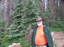 John, on Continental Divide Trail, near Wolf Creek Pass