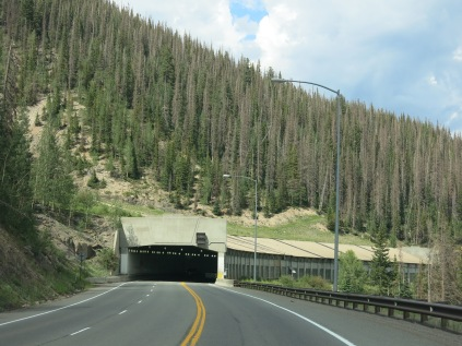 Snow Shed - Wolf Creek Pass