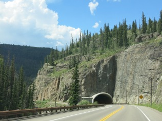 Tunnel near Wolf Creek Pass