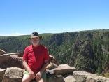 John at Black Canyon NP