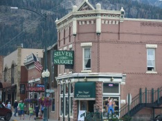 Beautiful old buildings in Ouray, CO