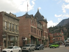 Greene St in Ouray...