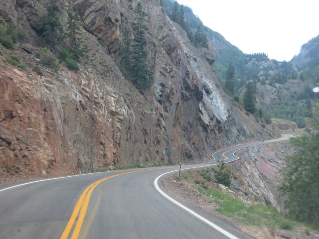 CR 550 south of Bear Creek Falls