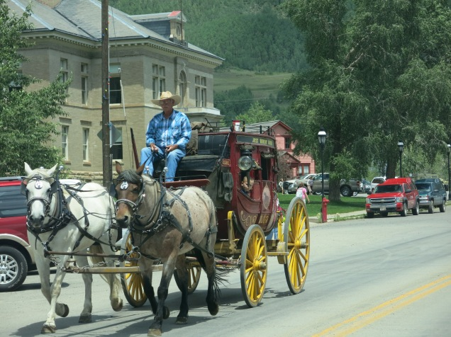 the stagecoach is here!