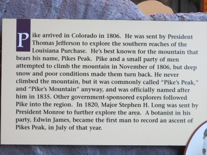 Zebulon Montgomery Pike - Pike's Peak named after him...