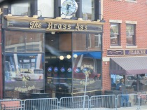 terrible shot... the Brass Ass Casino (264 Bennett Ave, Cripple Creek) was on John's side of the street as we drove by...