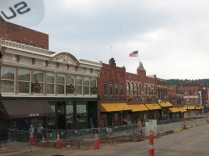 224-230 Bennett Avenue (Phenix Block) Cripple Creek, historic building built 1896. Today, a poker room and general store.