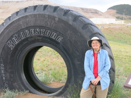 this is a $24,000 tire... can you imagine needing four of these babies?