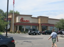 Oh, my gosh... we found a Chickfila restaurant. It's been a couple months!