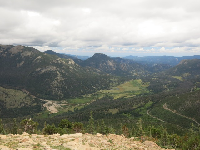 view from Hidden Valley overlook