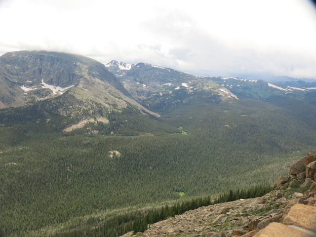 Alpine Visitor Center overlook