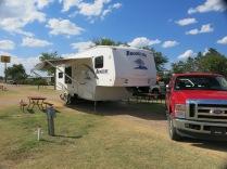 WaKeeney KOA campsite